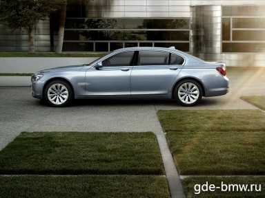 : BMW 7ER ActiveHybrid сбоку