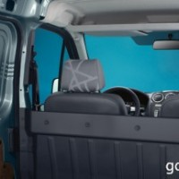 : Ford Transit Connect салон