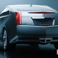: Cadillac CTS coupe 2011 сзади