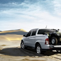 : SsangYong Actyon Sports new сзади