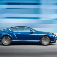 Bentley Continental GT Speed фото сбоку: