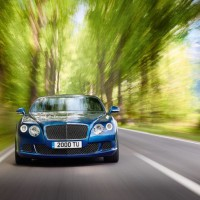 Bentley Continental GT Speed спереди: