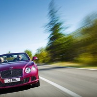 вид спереди New Bentley Continental GTC Speed: